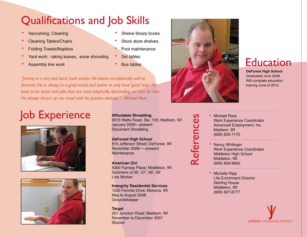 Brochure Resume_red2